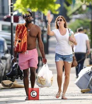 Lisa Snowdon and Adereti Monney
