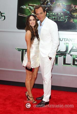 Megan Fox and Will Arnett - Los Angeles premiere of 'Teenage Mutant Ninja Turtles' - Arrivals - Los Angeles, California,...