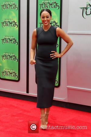 Tia Mowry and Teenage Mutant Ninja Turtles