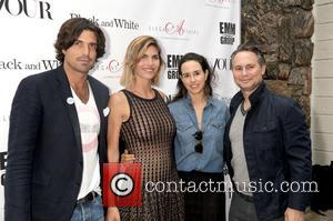 Nacho Figueras, Delfina Balquier, Haley Binn and Jason Binn - The Hamptons Premiere of 'Black and White' at UA Cinema...