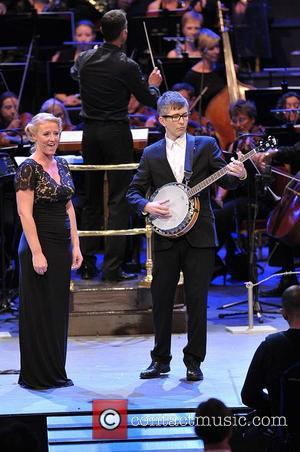 Skye Manton Of The Proms Military Wives Choir and Gareth Malone