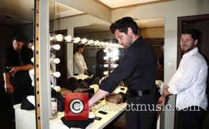 Maksim Chmerkovskiy and Val Chmerkovskiy - Backstage at Ballroom with a Twist at the NYCB Theatre at Westbury. - New...