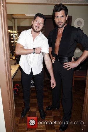 Val Chmerkovskiy and Maksim Chmerkovskiy - Backstage at Ballroom with a Twist at the NYCB Theatre at Westbury. - New...