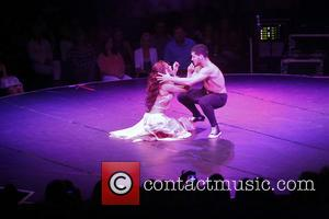 Sharna Burgess and Val Chmerkovskiy - Ballroom with a Twist at the NYCB Theatre at Westbury - Performance. - New...