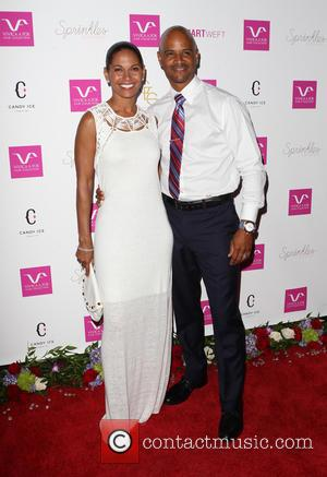 Salli Richardson and Dondre Whitfield - VIVICA A. FOX'S FABULOUS 50TH BIRTHDAY CELEBRATION - Beverly Hills, California, United States -...