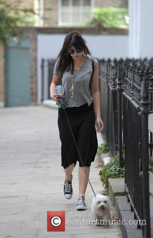 Daisy Lowe - Daisy Lowe running errands in Primrose Hill with her dog Monty - London, United Kingdom - Monday...