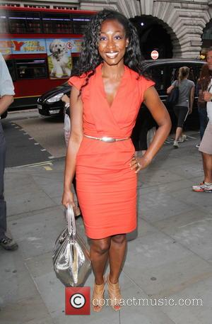 Beverley Knight - Future of Fashion charity event at Cafe Royal - London, United Kingdom - Monday 4th August 2014