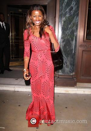 June Sarpong - Future of Fashion charity event at Cafe Royal - London, United Kingdom - Monday 4th August 2014