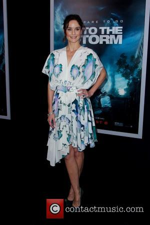 Sarah Wayne Callies - World premiere of 'Into The Storm' at AMC Lincoln Square Theater - Red Carpet Arrivals -...