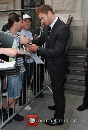 Kellan Lutz - The Expendables 3 cast leaviing their London hotel - London, United Kingdom - Monday 4th August 2014