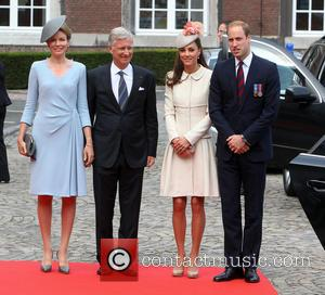 William Duke Of Cambridge, Prince William, Catherine Duchess Of Cambridge, Kate Middleton, King Phillipe and Queen Mathilde