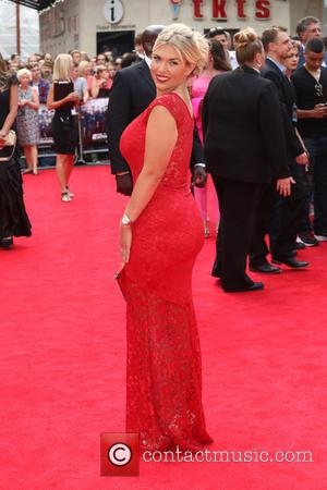 Frankie Essex - 'The Expendables 3' world film premiere held at the Odeon cinema - Arrivals - London, United Kingdom...