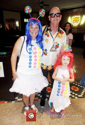 Keith Hudson - Katy Perry's father Keith Hudson poses for pictures with fans at the Wells Fargo Center ahead of...