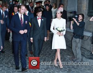 Prince William, Prince Harry, Catherine Middleton and Duches Of Cambridge