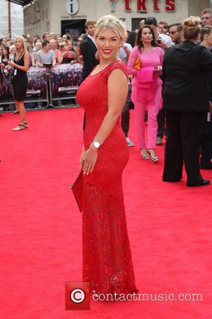 Frankie Essex - The Expendables 3 - UK film premiere held at the Odeon cinema - Arrivals - London, United...