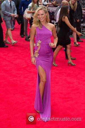 Kimberley Garner - The Expendables 3 - World premiere held at the Odeon Cinema - Arrivals - London, United Kingdom...