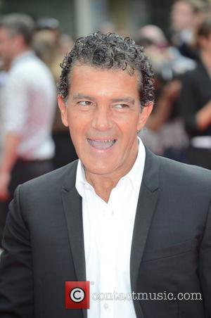 Antonio Banderas - The Expendables 3 - UK film premiere held at the Odeon cinema - Arrivals - London, United...