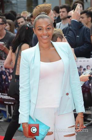 Amal Fashanu - The Expendables 3 - World premiere held at the Odeon Cinema - Arrivals - London, United Kingdom...