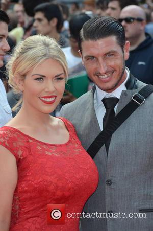 Frankie Essex ? - The Expendables 3 - World premiere held at the Odeon Cinema - Arrivals - London, United...