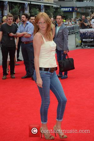 Olivia Inge - The Expendables 3 - World premiere held at the Odeon Cinema - Arrivals - London, United Kingdom...