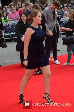 Tanya Burr - The Expendables 3 - World premiere held at the Odeon Cinema - Arrivals - London, United Kingdom...