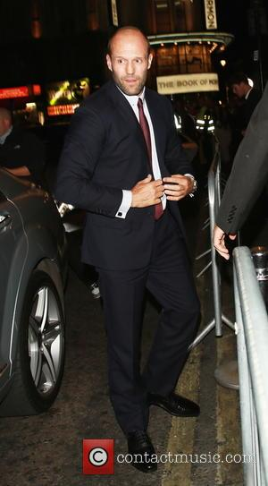Jason Statham - The Expendables 3 - UK film  premiere Afterparty  at DSTRKT . - London, United Kingdom...
