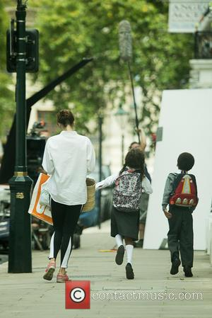 Gemma Arterton - Filming of 'A Hundred Streets' in London - London, United Kingdom - Tuesday 5th August 2014
