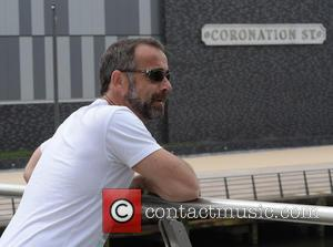 Michael Le Vell - Michael Le Vell spotted walking around Media City Manchester and returning to the 'Coronation Street' studios...