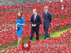 Prince William, Duke Of Cambridge, Catherine, Duchess Of Cambridge and Prince Harry