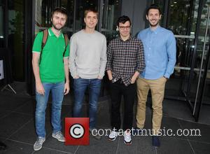 James Buckley, Joe Thomas, Simon Bird and Blake Harrison
