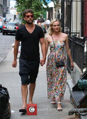 Joshua Jackson and Diane Kruger - Joshua Jackson and Diane Kruger out and about together in New York City -...