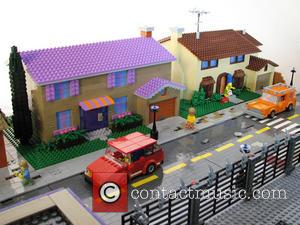 The Simpsons - See The Town of Springfield In Lego Form [Pictures]