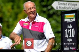 Len Goodman - Farmfoods British Par 3 Championship held at Nailcote Hall - Day 2 - Coventry, United Kingdom -...