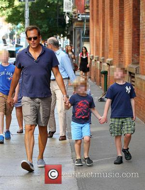 Will Arnett, Archibald Arnett and Archie Arnett - Will Arnett out and about with his son, Archie in New York...
