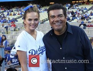 Chrissy Teigen and George Lopez