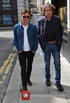 Cillian Murphy and Stephen Rea - Actors Cillian Murphy and Stephen Rea at Today FM's Ray Darcy Show promoting their...