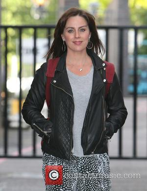 Jill Halfpenny - Celebrities at the ITV studios - London, United Kingdom - Tuesday 5th August 2014