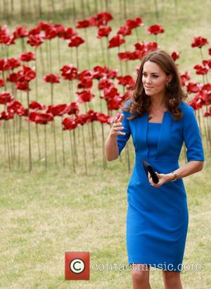 Catherine Duchess of Cambridge and Kate Middleton - Princes William and Harry, accompanied by Catherine Duchess of Cambridge visit the...