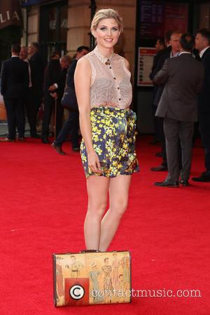 Ashley James - World premiere of 'The Inbetweeners 2' held at Vue Cinemas - Arrivals - London, United Kingdom -...