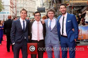 Blake Harrison, James Buckley, Joe Thomas and Simon Bird