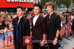 Union J - 'The Inbetweeners 2' world premiere held at the Vue Cinema - Arrivals - London, United Kingdom -...