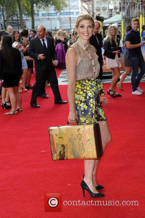 Ashley James - World Premiere of 'The Inbetweeners 2' at Vue West End - London, United Kingdom - Tuesday 5th...