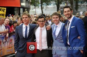 Blake Harrison, Joe Thomas, Simon Bird and James Buckley