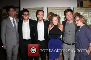Elisabeth Moss, (L-R) RADiUS-TWC Co-President Jason Janego, actor Justin Lader, director Charlie McDowell, Mark Duplass and Mel Eslyn