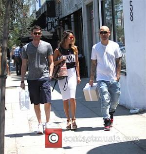 Bryan Greenberg, Ben Baller and Jamie Chung - Jamie Chung and Bryan Greenberg have lunch with Ben Baller at Joan's...