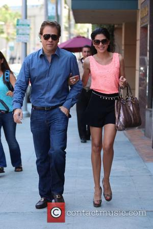 Joyce Giraud and Michael Ohoven - Ex-Real Housewives of Beverly Hills star, Joyce Giraud, shops for sunglasses with her husband,...