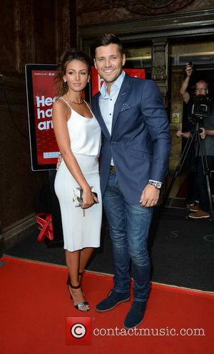 Michelle Keegan and Mark Wright - Michelle Keegan and Mark Wright arrive Rosso Restaurant for the launch of Heart FM...