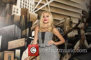 Pixie Lott - Pixie Lott arrives for a private gig at the exclusive Werewolf nightclub in Piccadilly to launch her...