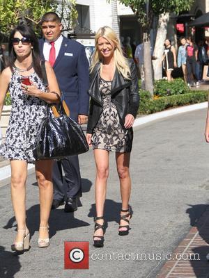 Tara Reid - Sharknado 2: The Second One star, Tara Reid, goes shopping at The Grove in Hollywood - Los...