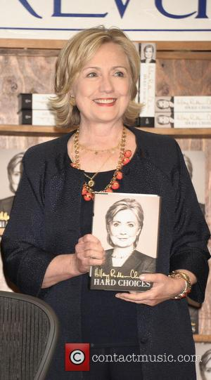 Hillary Clinton - Hillary Clinton signs copies of her new book